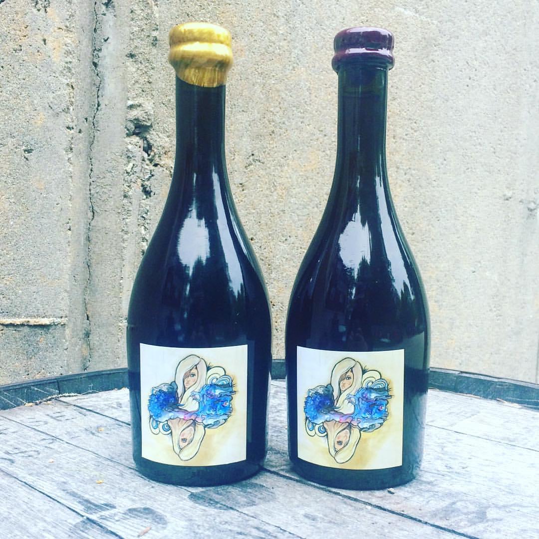 """Barreled Souls Brewing Co. """"Blonde On Blonde"""" final label design"""