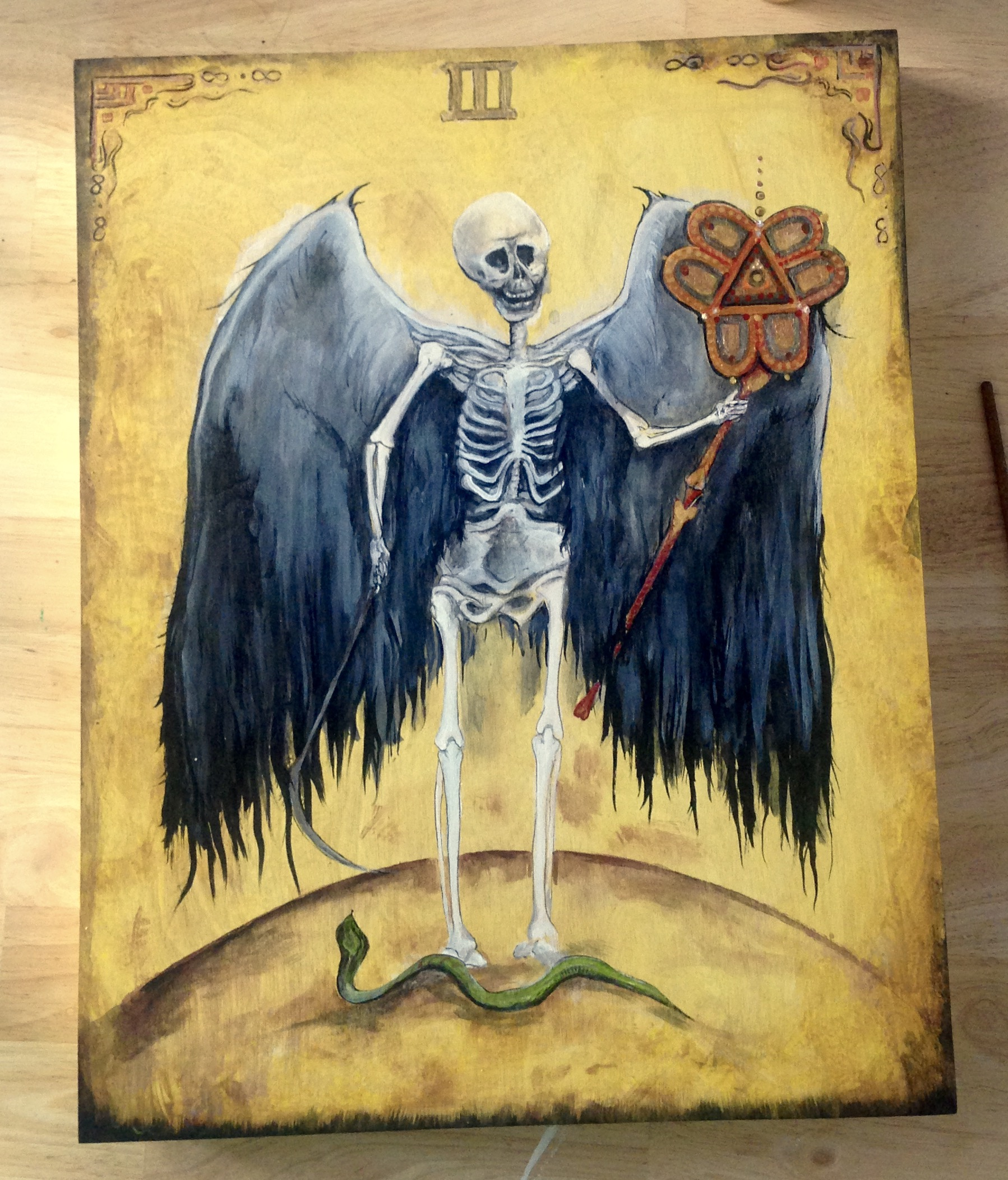 """Bissell Brothers """"Angels With Filthy Souls 2016"""" design development"""