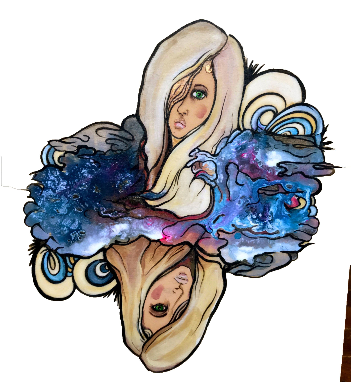 """Barreled Souls Brewing Co. """"Blonde On Blonde"""" design development"""