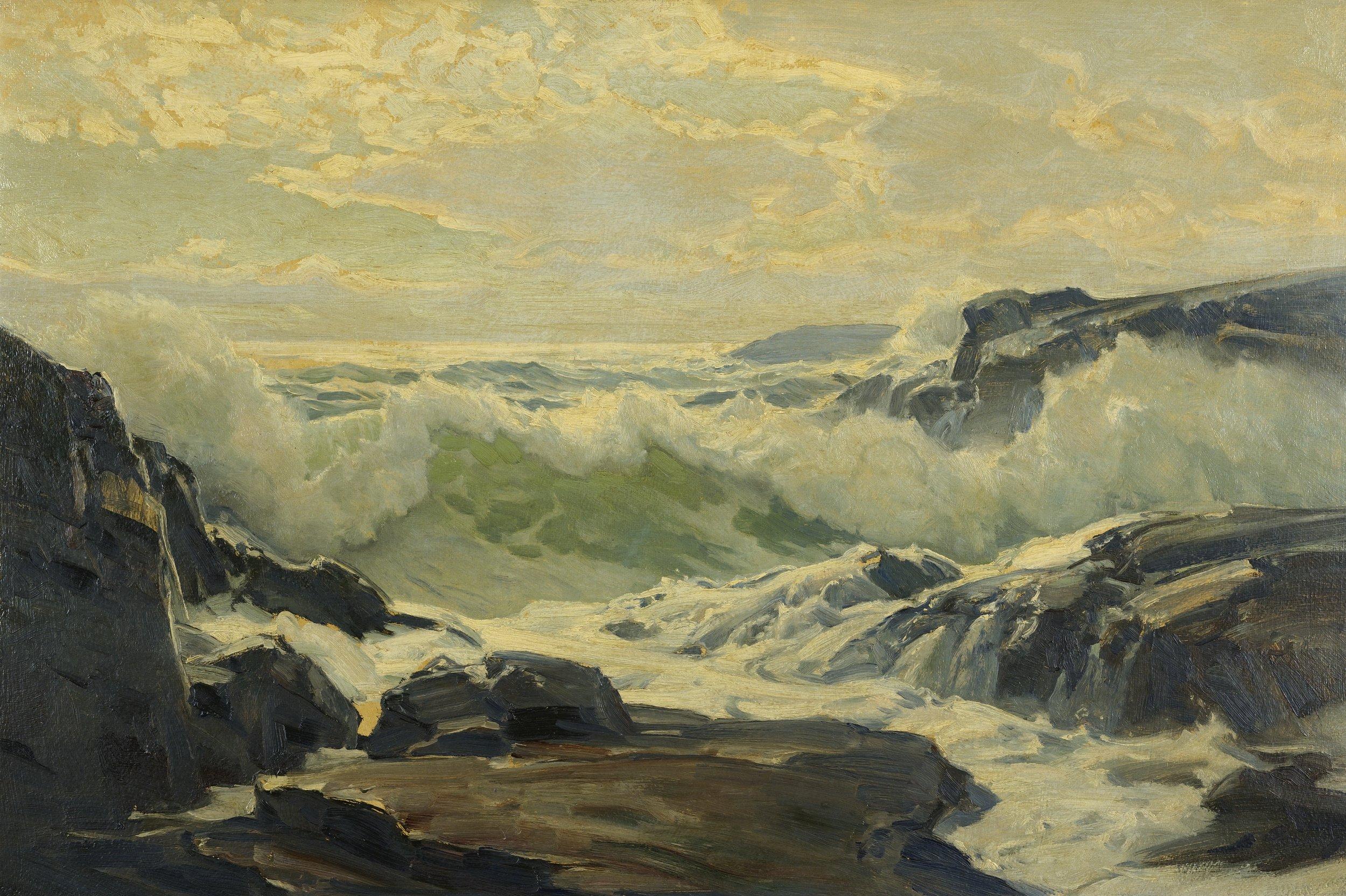 Frederick Judd Waugh - Coast Of Maine