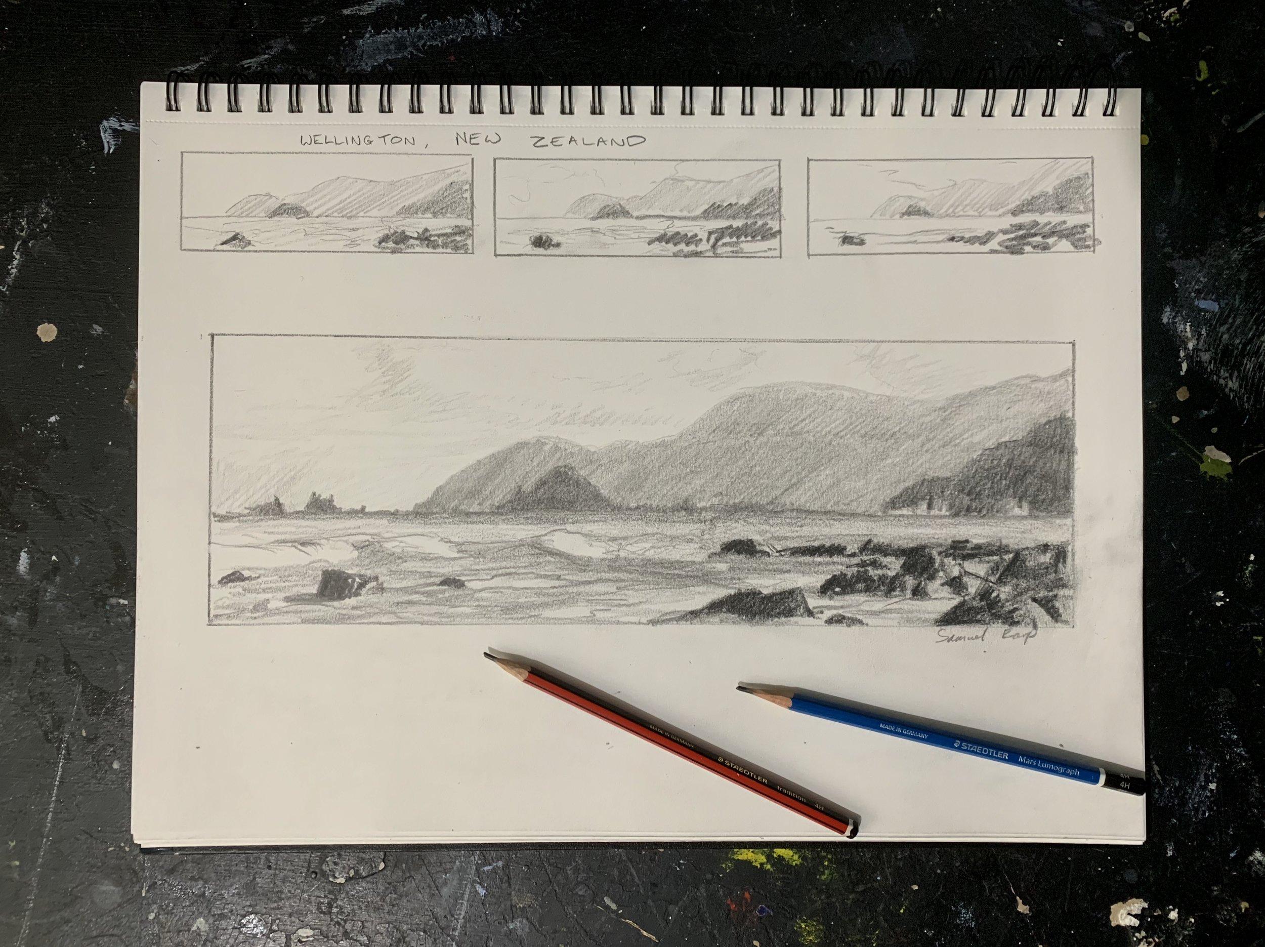 Wellington coast - sketch - Samuel Earp.jpg
