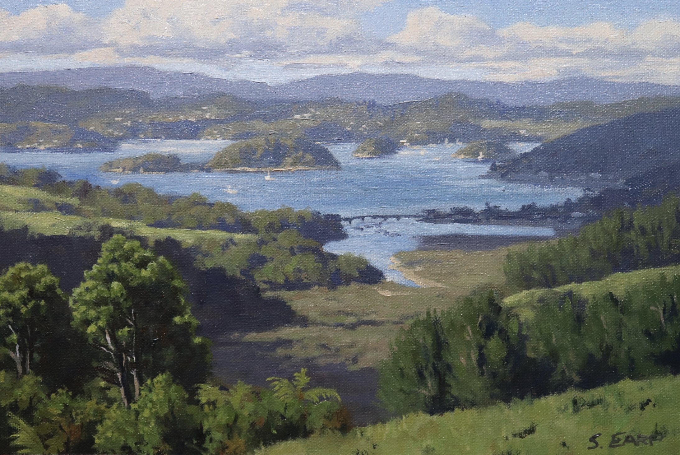Bay of Islands, New Zealand, 20cm x 30cm, oil on canvas