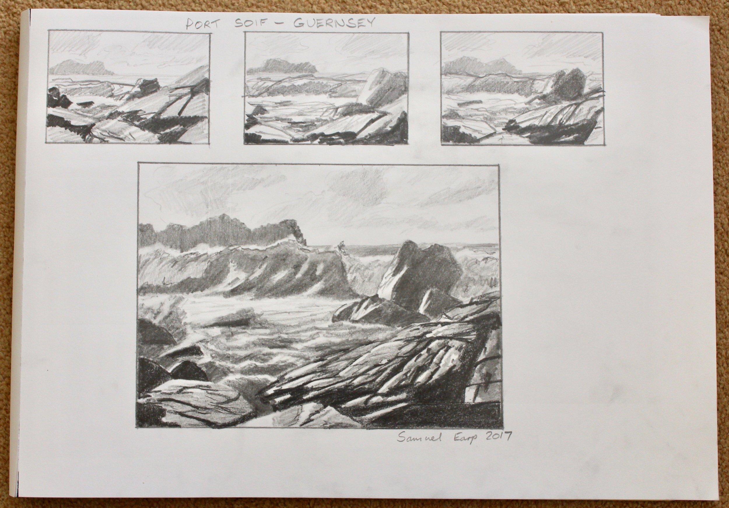 Port Soif - Pencil Sketch - Samuel Earp.jpg