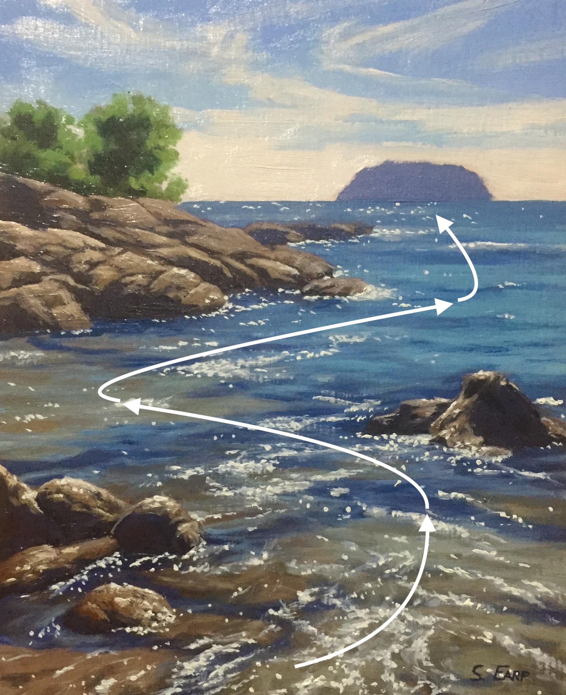 Thailand Rocky Shore - Samuel  Earp - oil painting copy.jpg