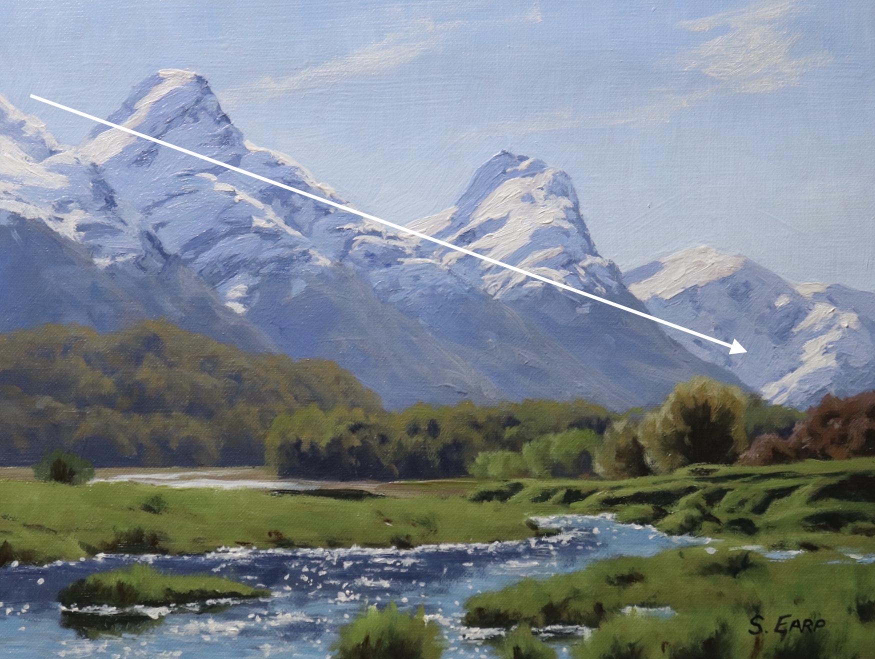 Diagonal Line Composition - Paradise New Zealand - oil painting - Samuel Earp copy.jpg