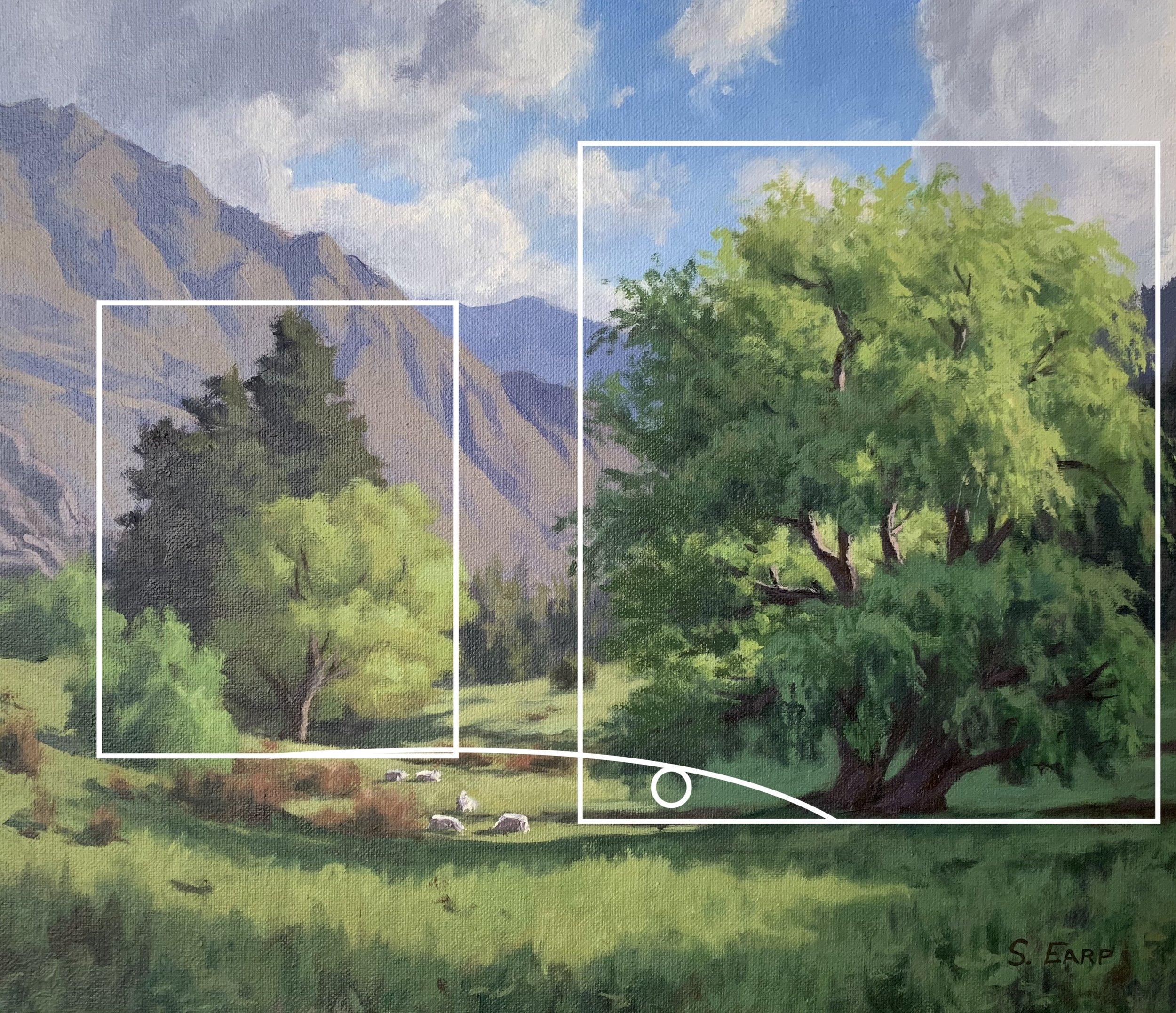 Willow Trees and Light - Samuel Earp - oil painting 1.jpg