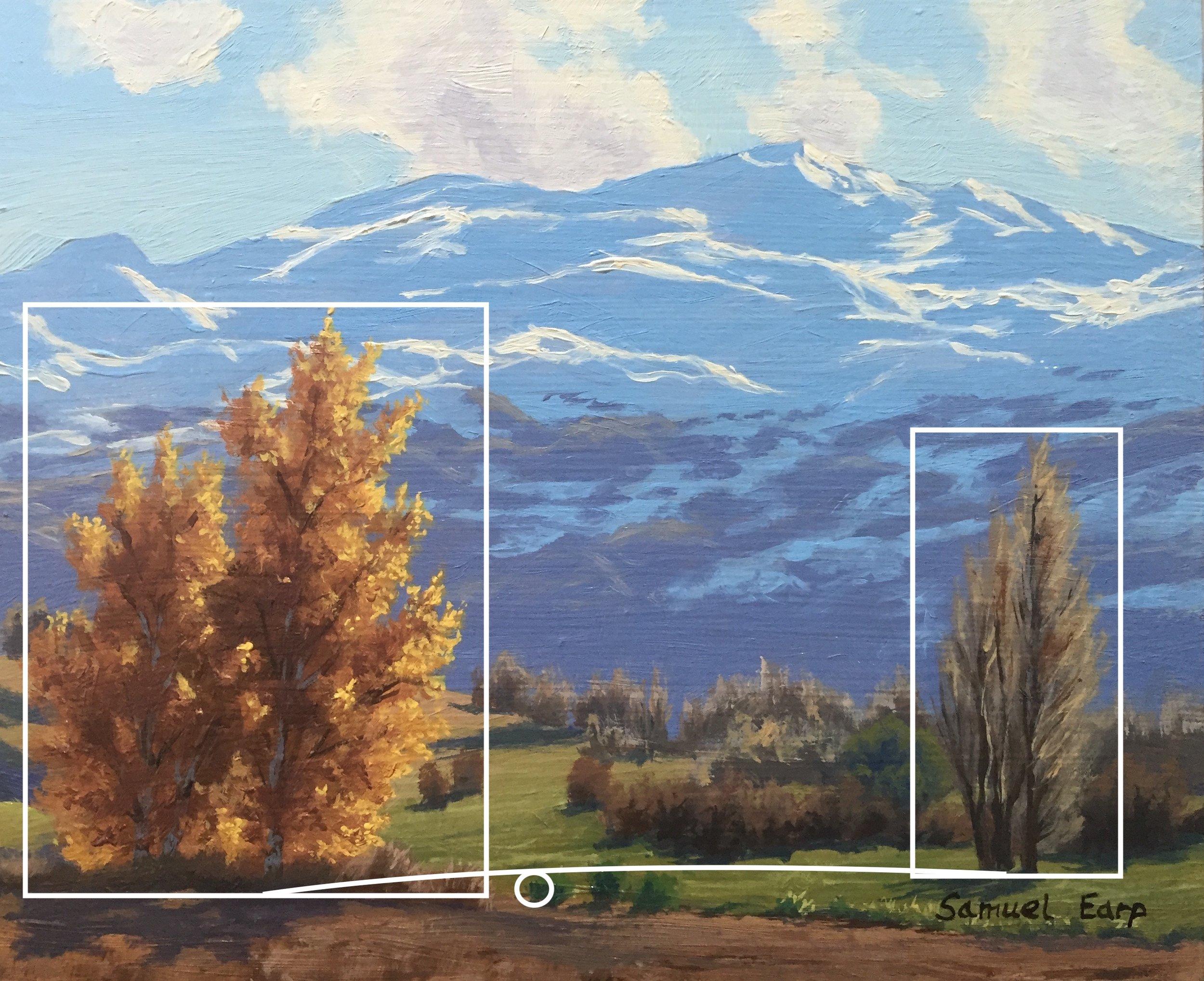 Steelyard composition - Coronet Peak - Autumn - Queenstown - landscapes - oil painting - Samuel Earp copy.jpg