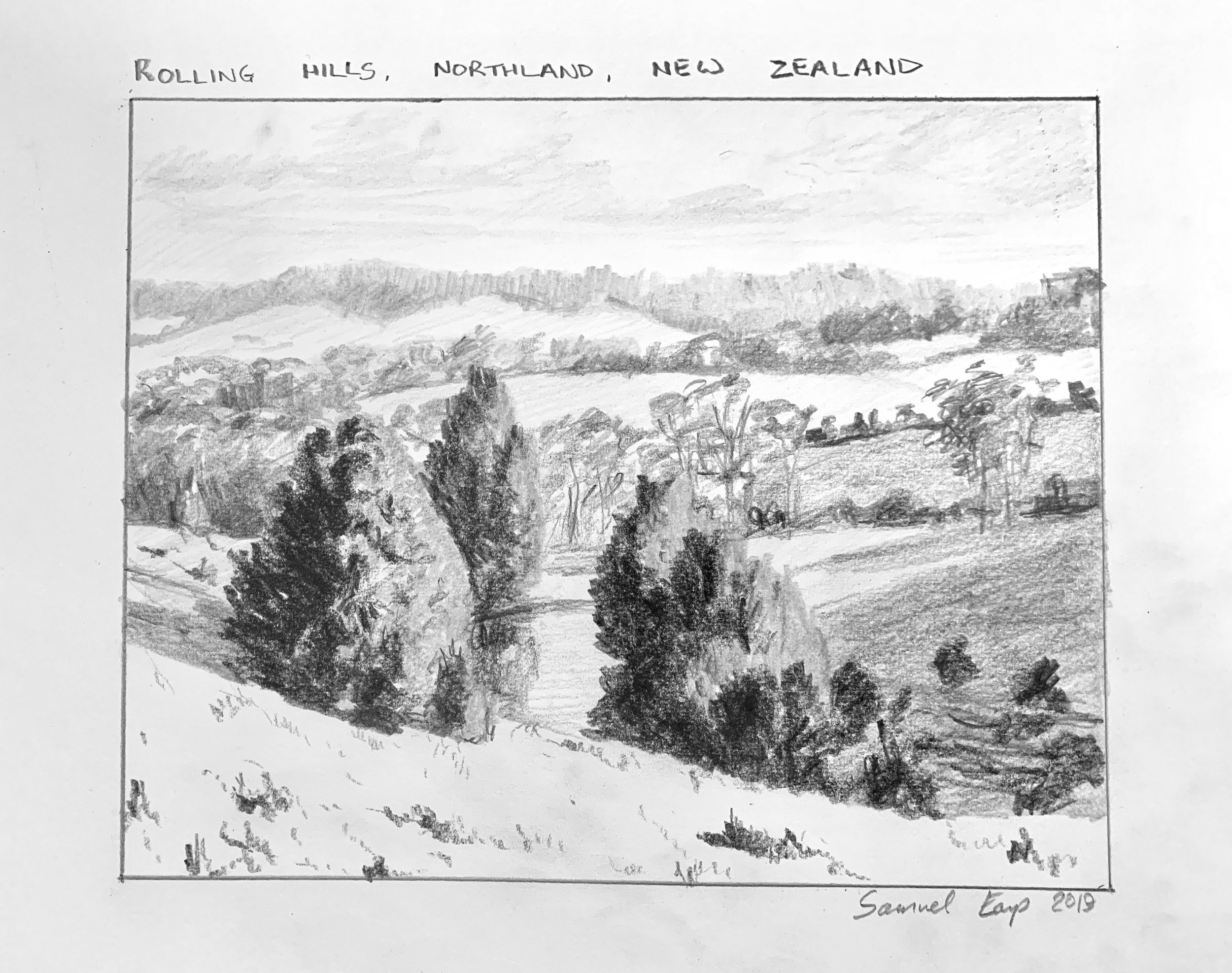 Rolling Hills Northalnd - pencil drawing - Samuel Earp.jpeg