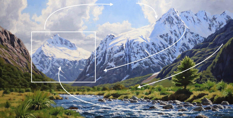 Mt Talbot - New Zealand - Samuel Earp landscape artist - oil painting copy 4.jpeg