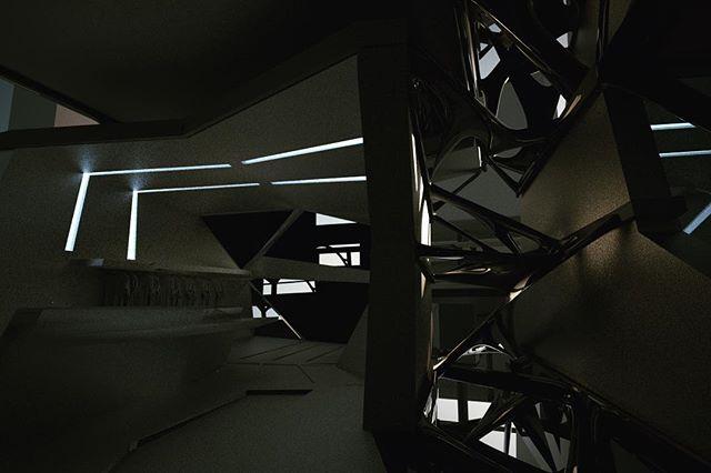 Shards and seams concept #parametric #architecture #3D #visualization #render #conceptual #conceptualart