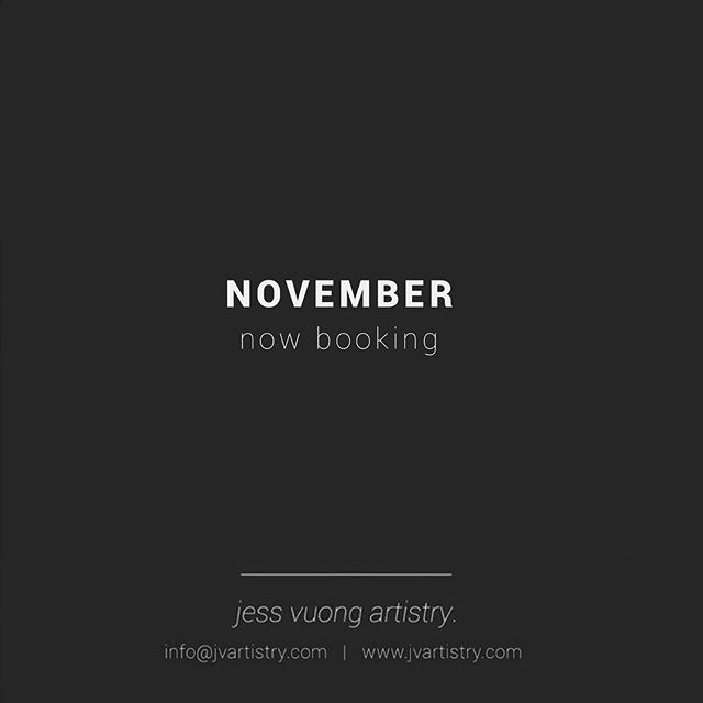 November is perfect timing to get low maintenance brows in time for your holiday travels and parties! 🎄 ✖️4 Nov weekend slots remaining❗️ ✖️Do you have a specific availability? Please email me for accommodations! 📩 ✖️To check out my availability, please visit my website ✨ ——————————————— Email: INFO@JVARTISTRY.COM Website: WWW.JVARTISTRY.COM