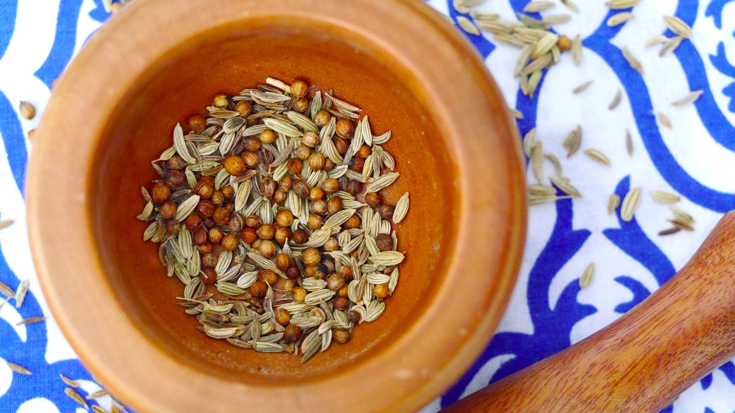 Overcome Indigestion & Bloating With This Delicious Digestive Spice Blend -