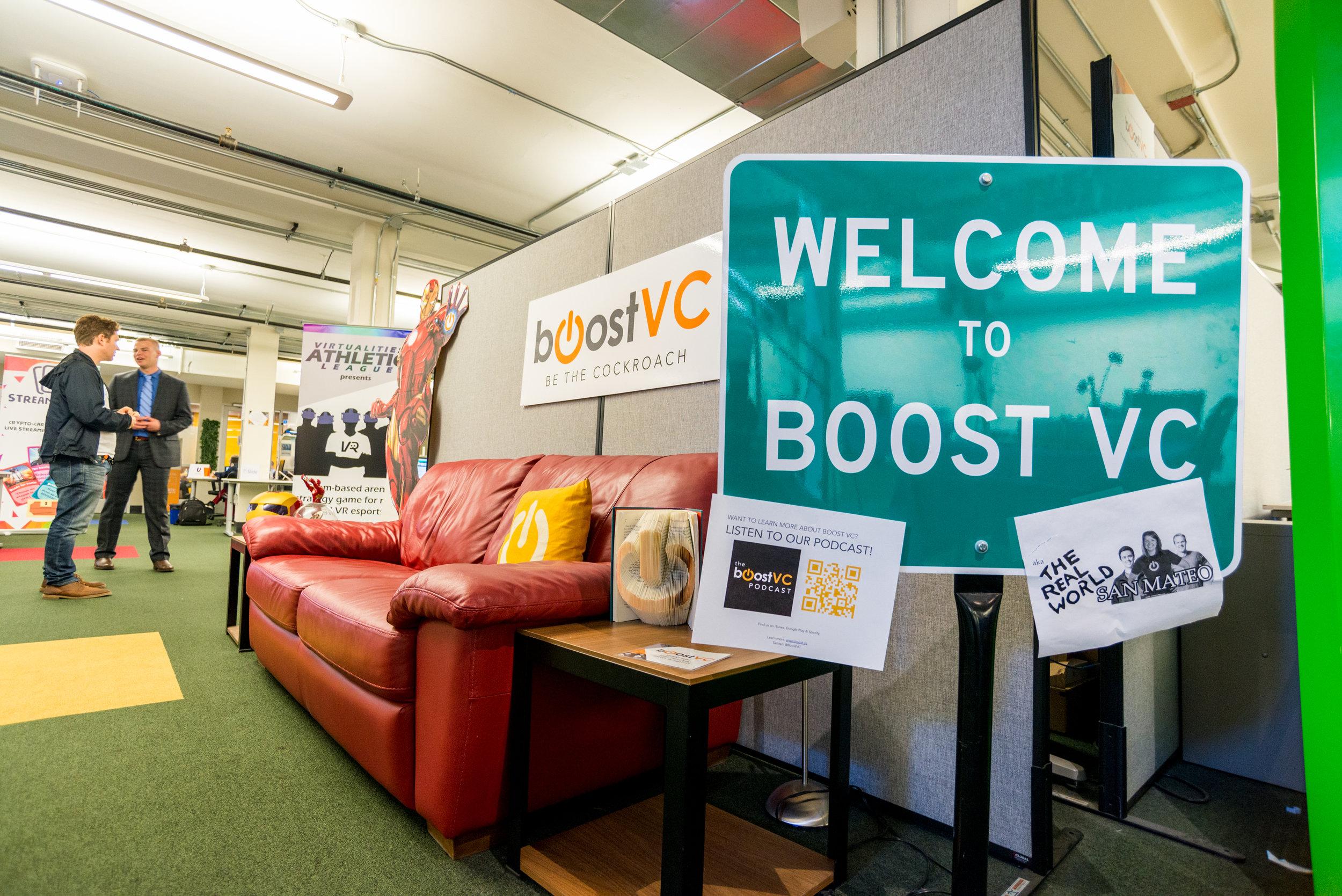 Boost VC accelerator. Photo by Alex Akamine.
