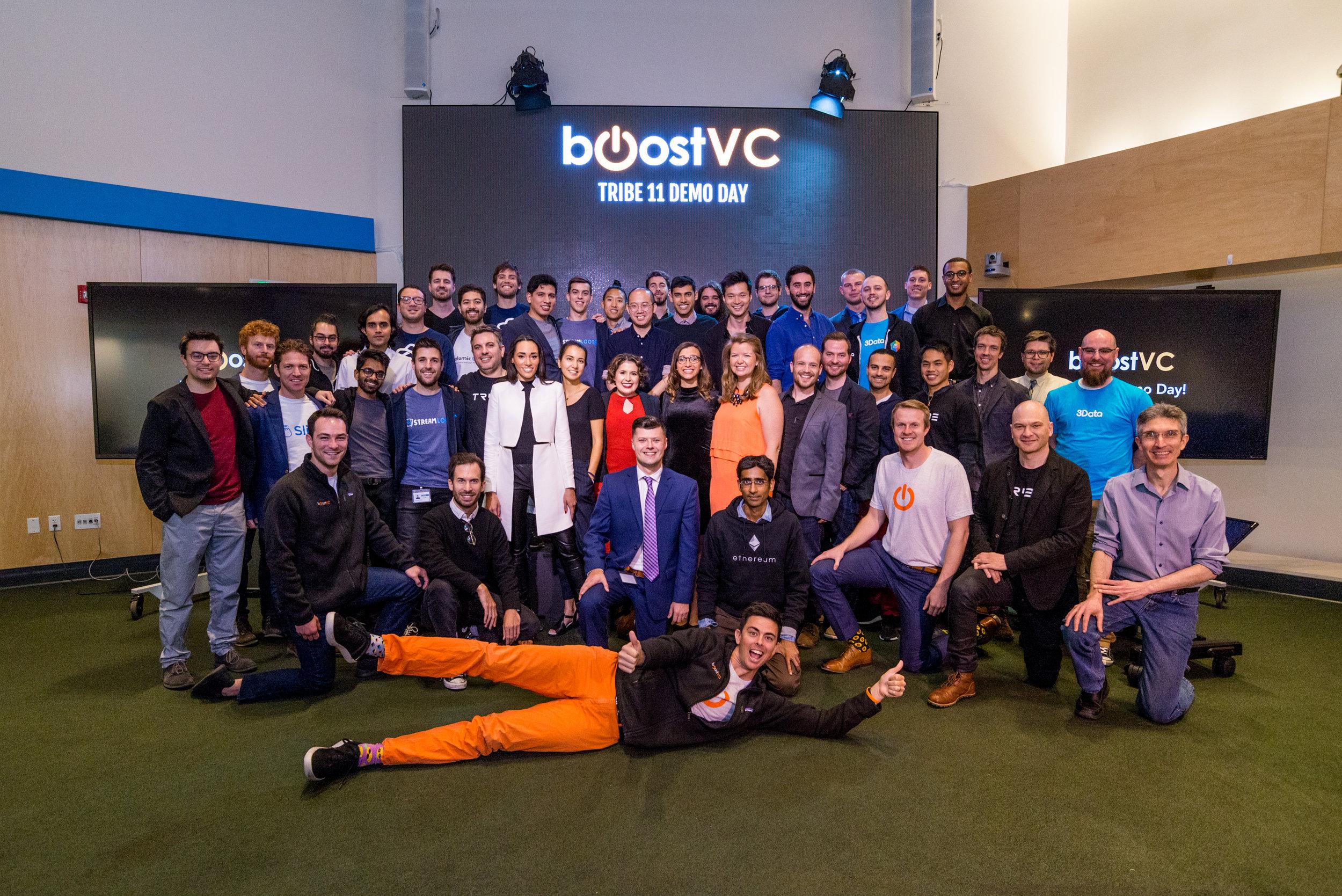 Boost VC Demon Day, April 2018. Photo by Alex Akamine.