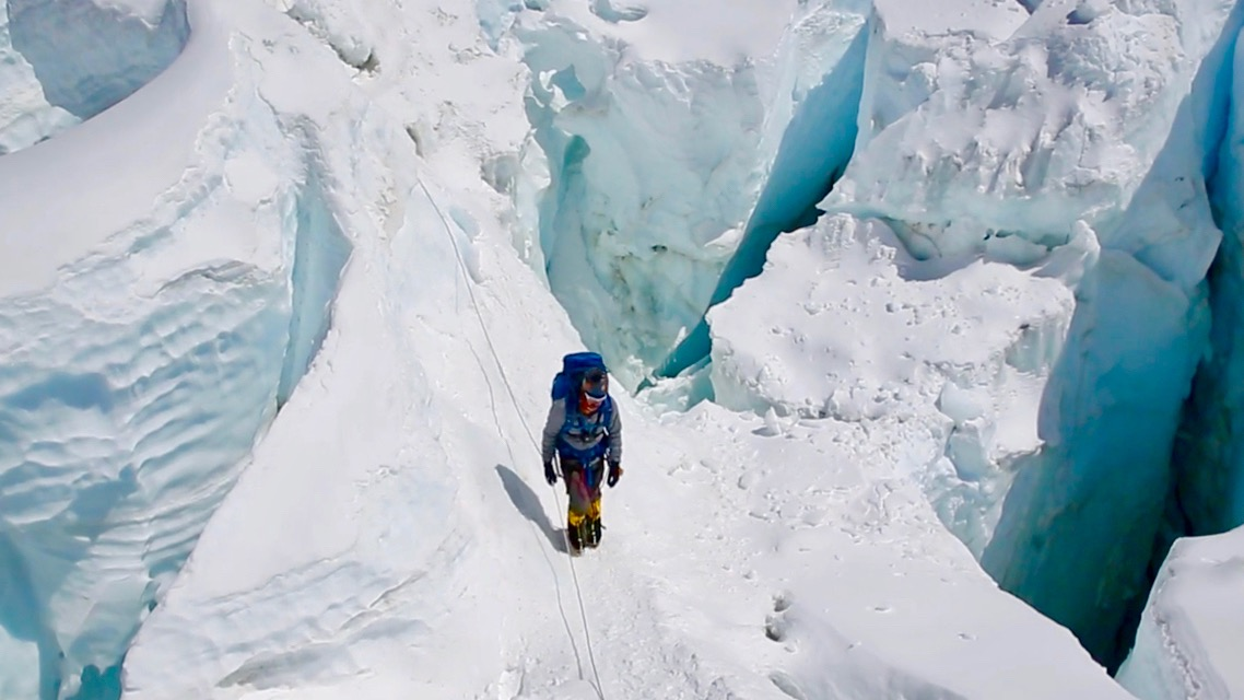 Chris Climbing the Ice Fall.jpg