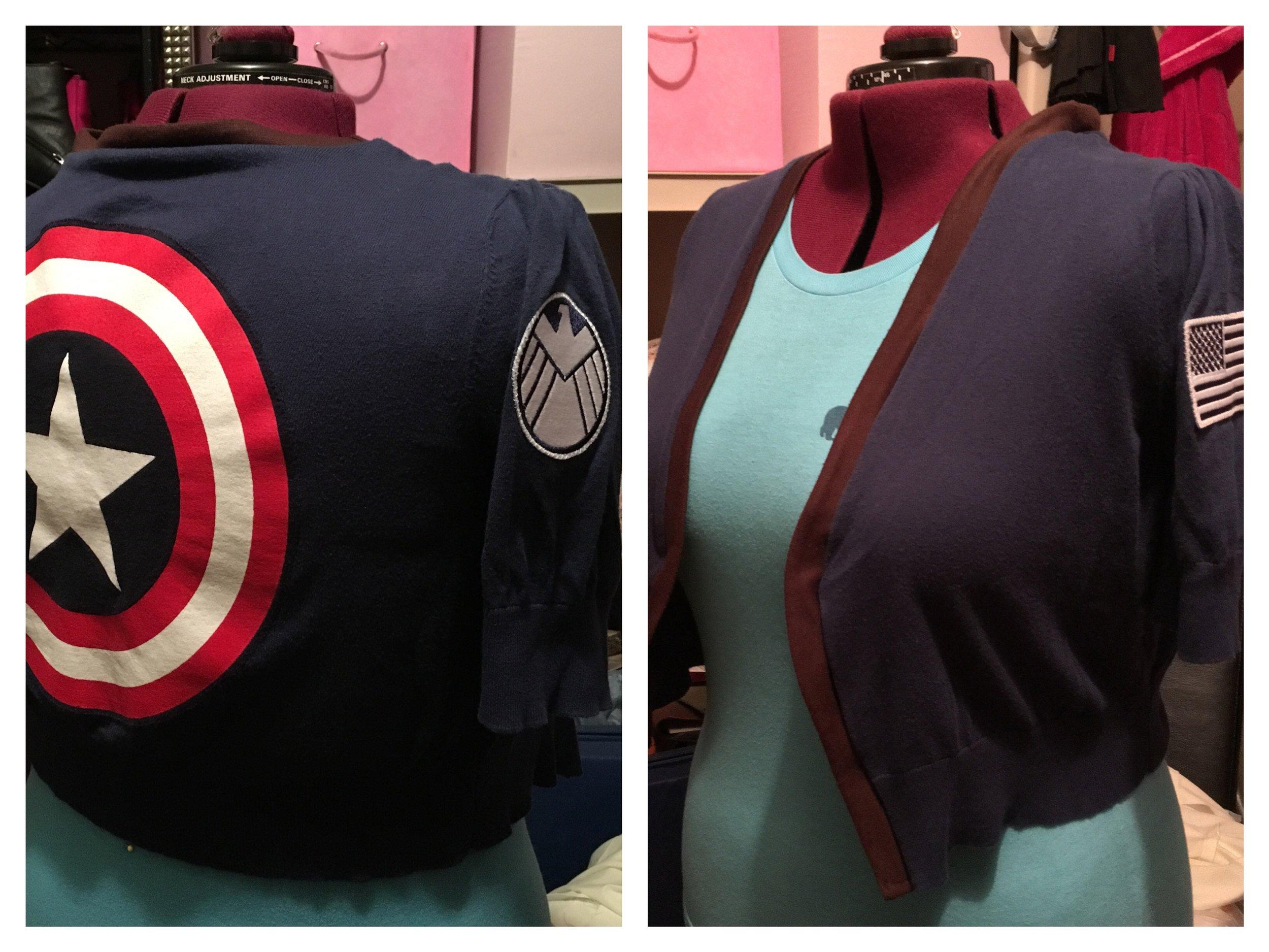Captain America cardigan