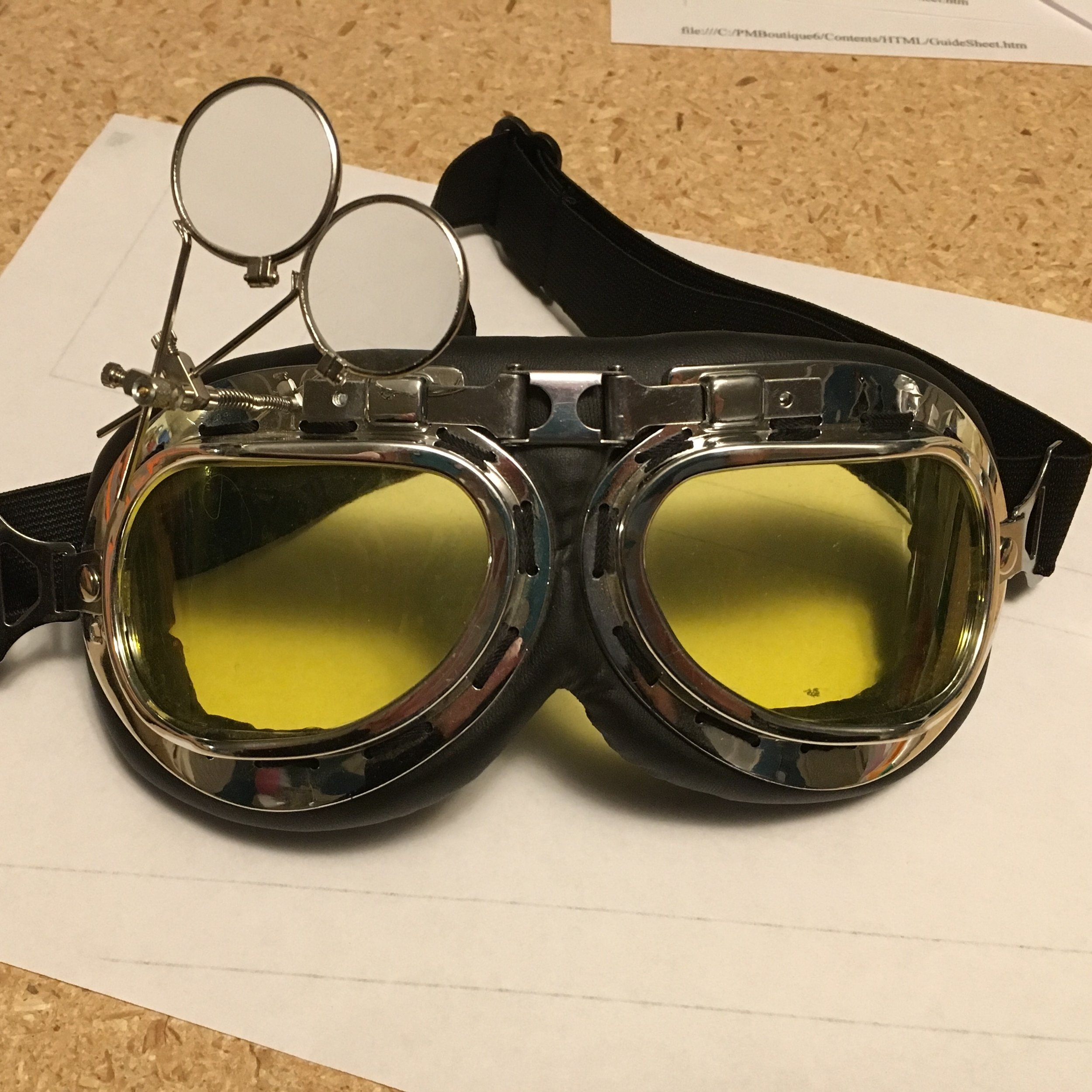 Holtzmann' safety goggles