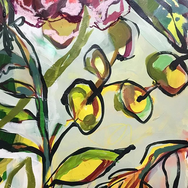 #botanical #abstractbotanical #workinprogress