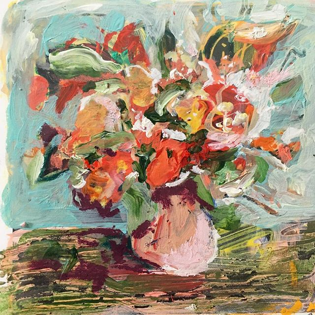 """Birthday Bouquet"" 3x3"""