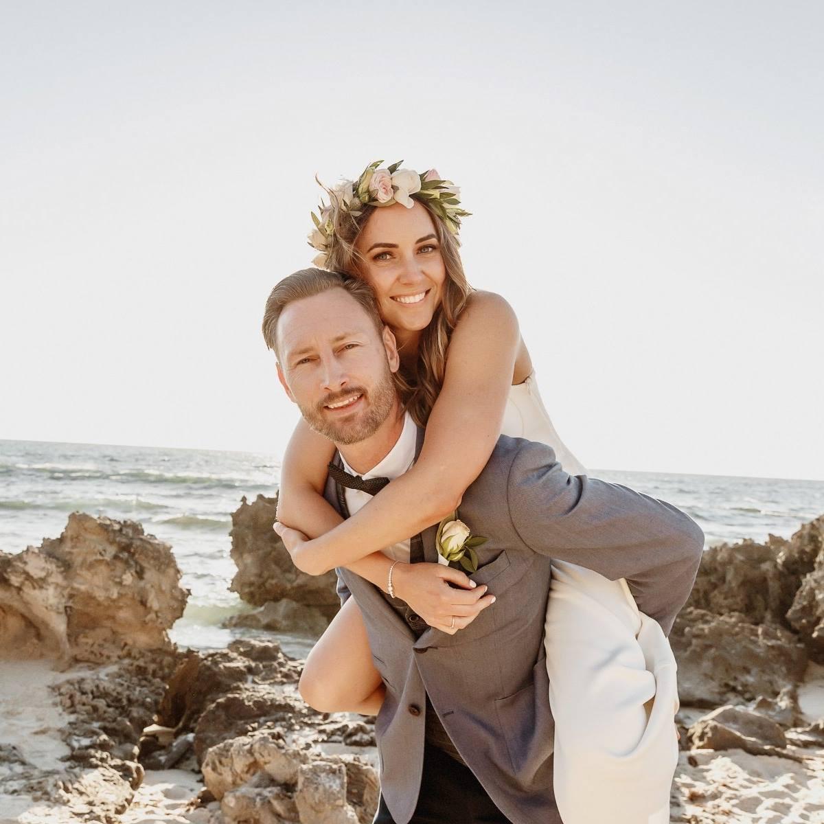 Sophie & Lee's Wedding, North Beach, Perth, AU