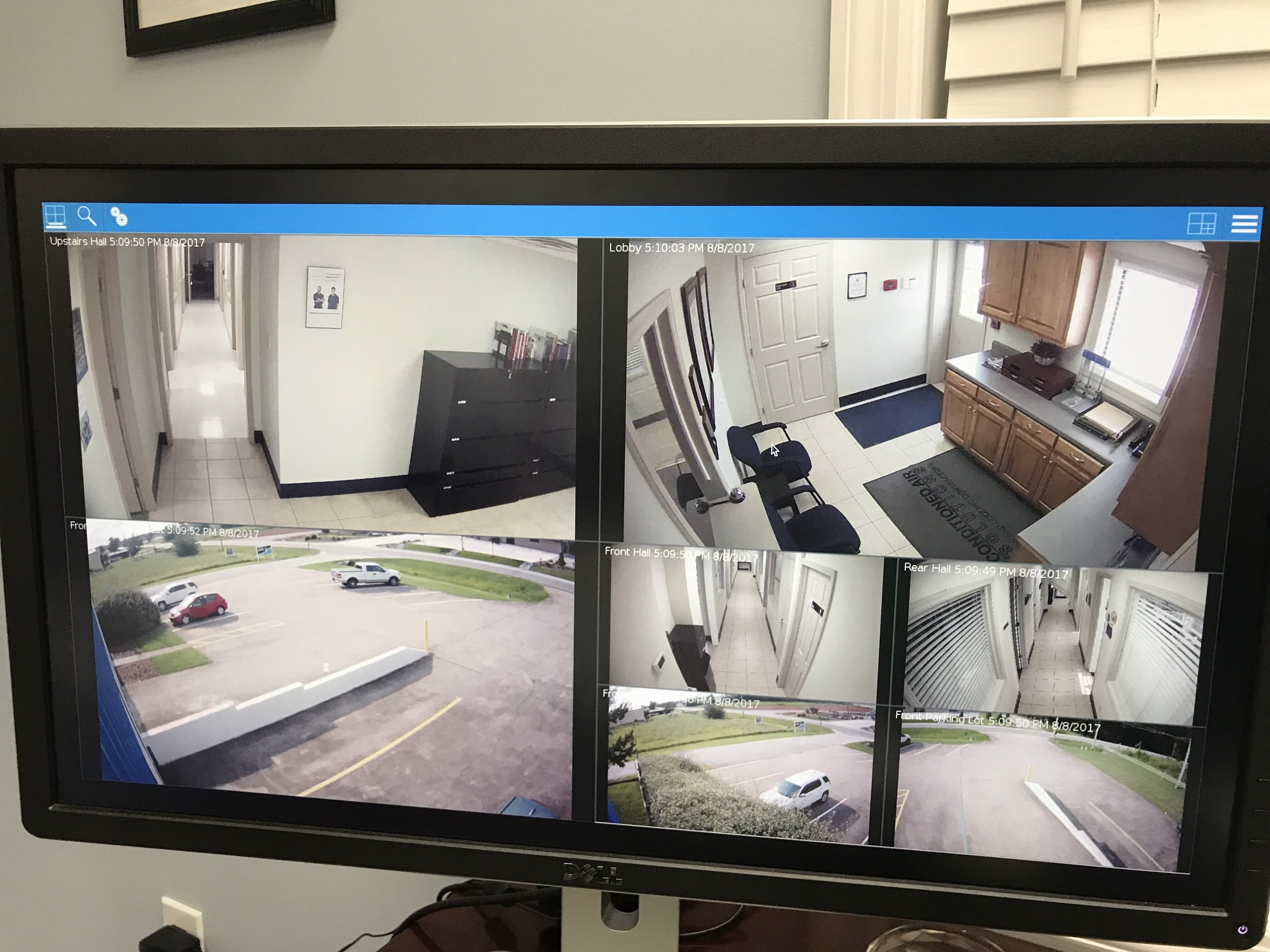 Replace old hardware - Instead of having an old dusty desktop that's full of security holes displaying your security cameras, replace it with a managed device that will fit on the back of the display and use a fraction of the power.
