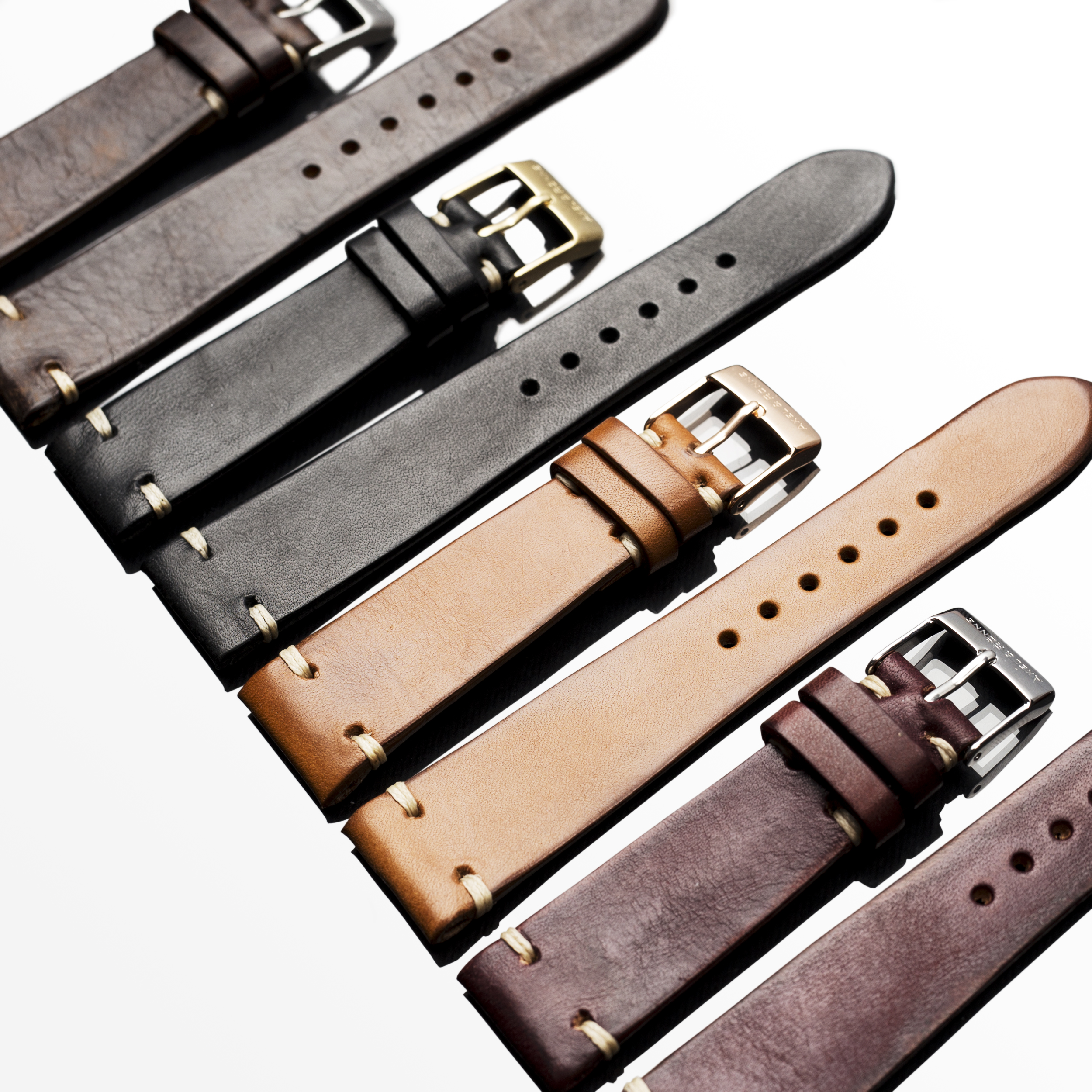 Leather straps handmade in Italy - Read more...