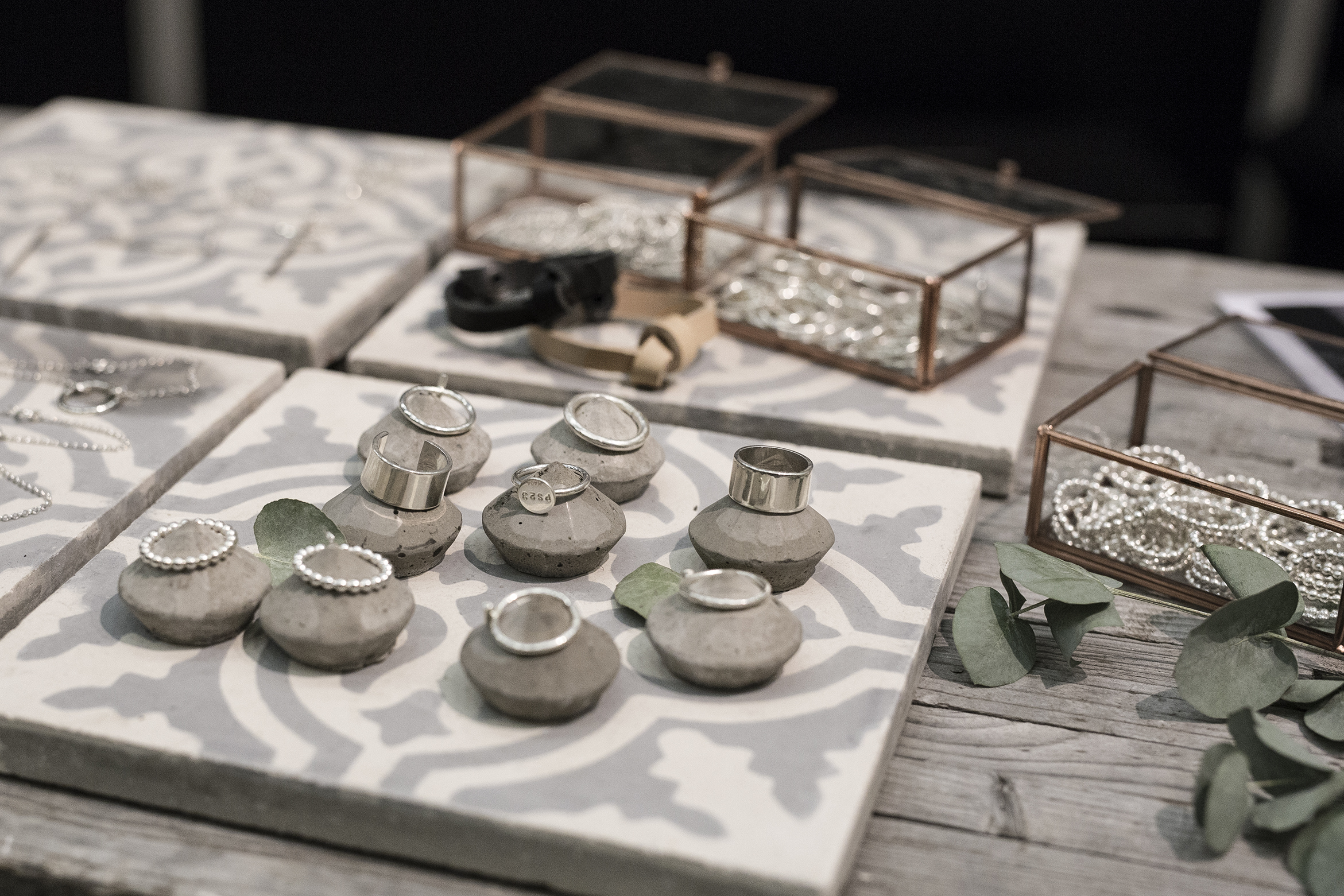 Hand-made jewellery from Silversmith:Syns På Haga