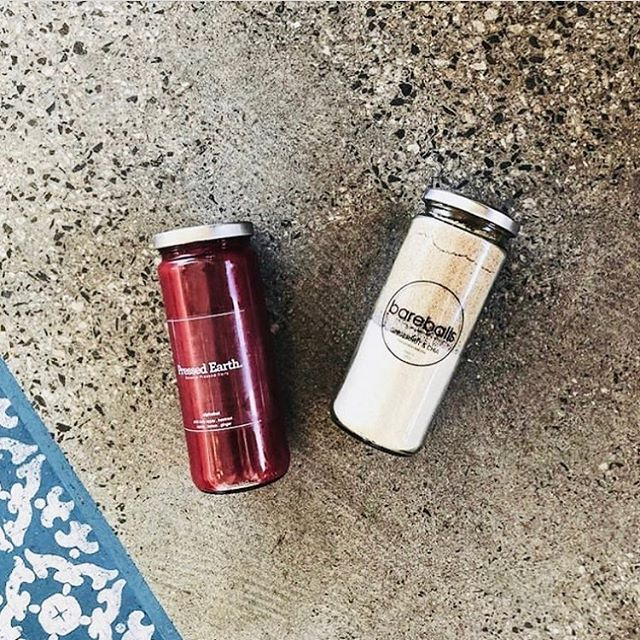 JUICE + PROTEIN BALL COMBO // Nothing like a jar of @pressed_earth juice and @bareballsmix to keep you going! This delightful $25 combo is only available at the @pressed_earth store in Claremont 🙌 We'll be there TODAY at lunchtime with mini Bareballs, so come grab a juice and have a taste! 🍁 #healthyferrerorocher #proteincookiedough