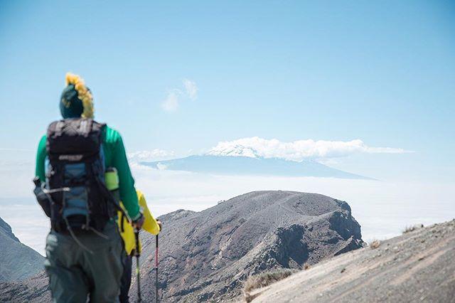 View of a volcano, from a volcano 🏔 . . . . . #meru #kilimanjaro #visittanzania #treklife #africa #discoverlandscape #welivetoexplore #discoverearth #beautifuldestinations #earthfocus #roamtheplanet #bevisuallyinspired #vibeofvisuals#amazingphotohunter #worldnomads #liveforthestory #roamearth #thegreatoutdoors#canon #adventurephotography #natgeo #wildernessnation #choosemountains #wildernessculture#theoutdoorfolk #exploretocreate #natgeotravel #simplyadventure #greettheoutdoors