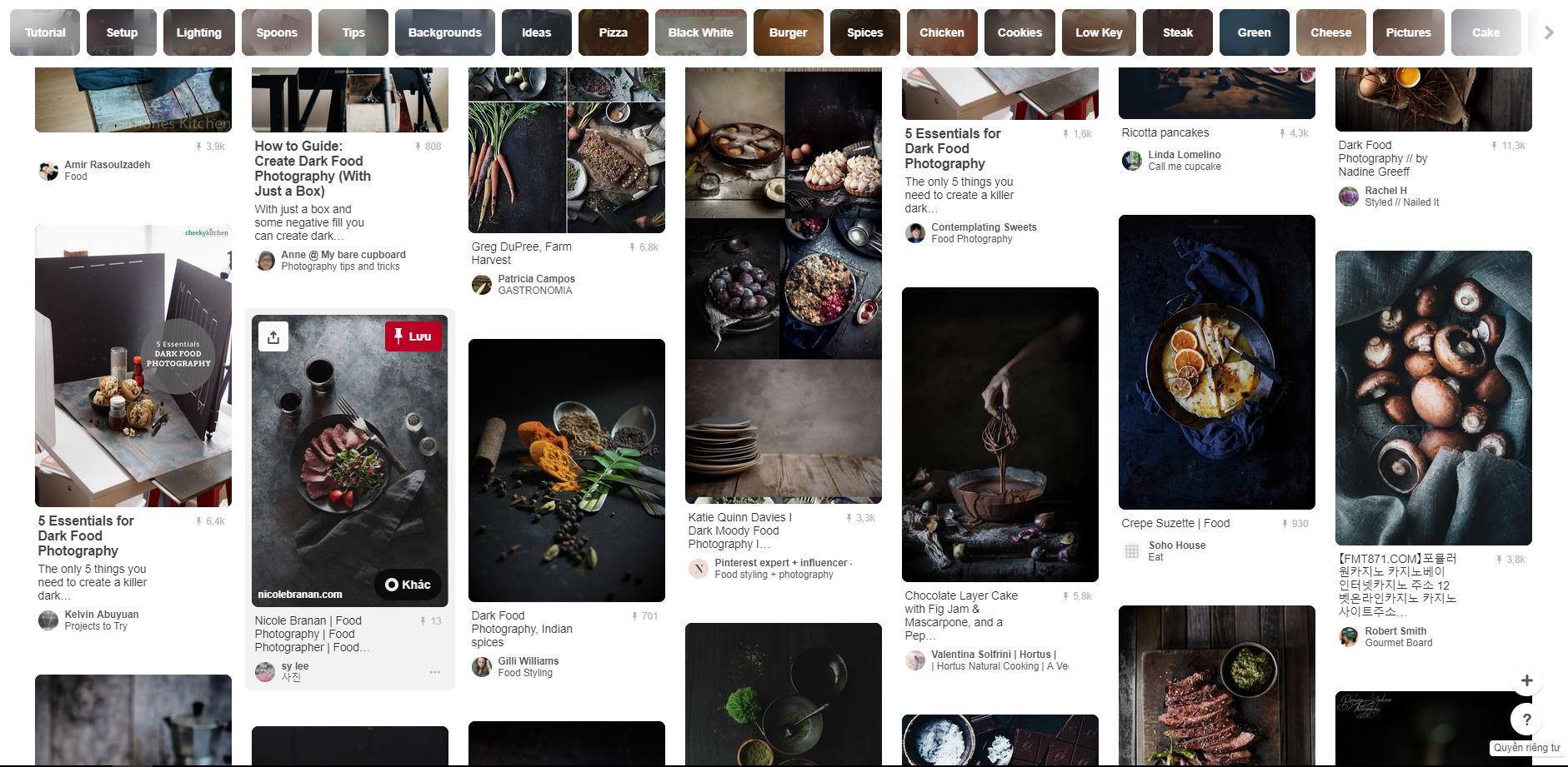 Food Photography trên Pinterest