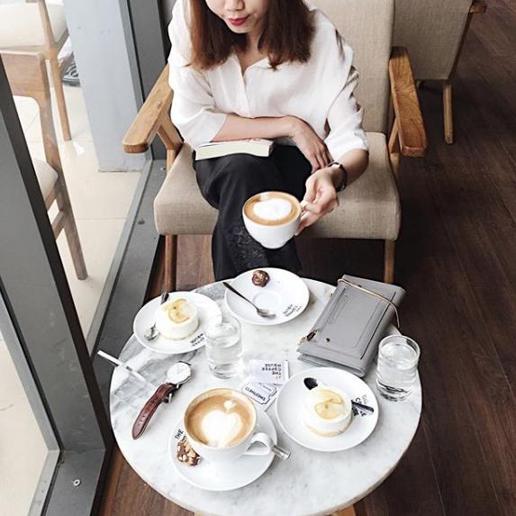 Latte là gia vị không thể thiếu trong cuộc sống của Bùi...