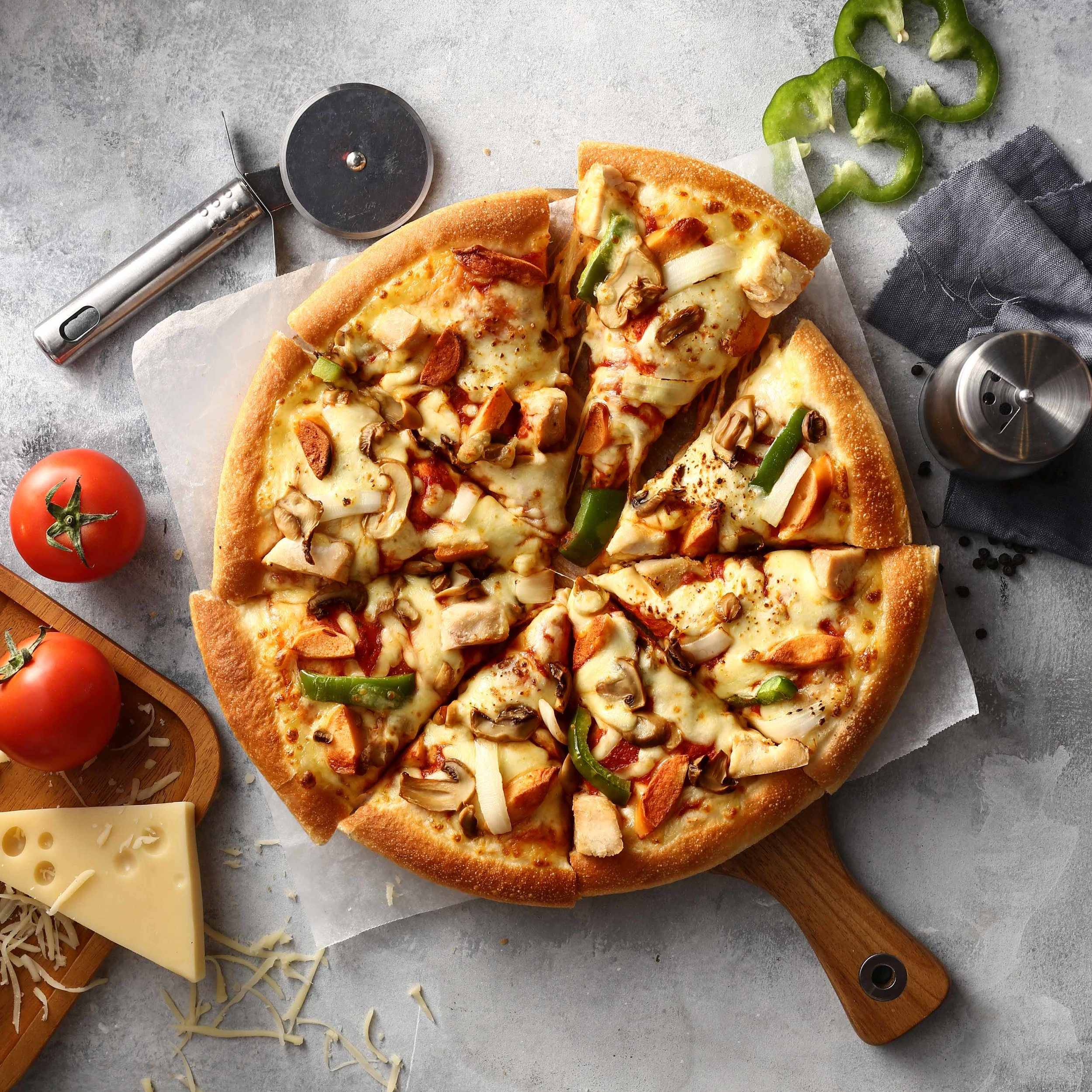Đây là ảnh buổi đầu Pitching cho Pizza Hut Vietnam nè!