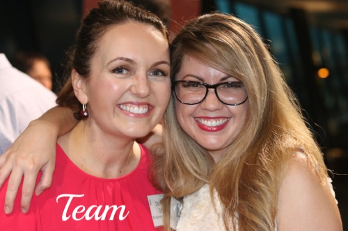 Dr Amy Daley and Nikita, Senior Dental Assistant at Brisbane Smile Boutique