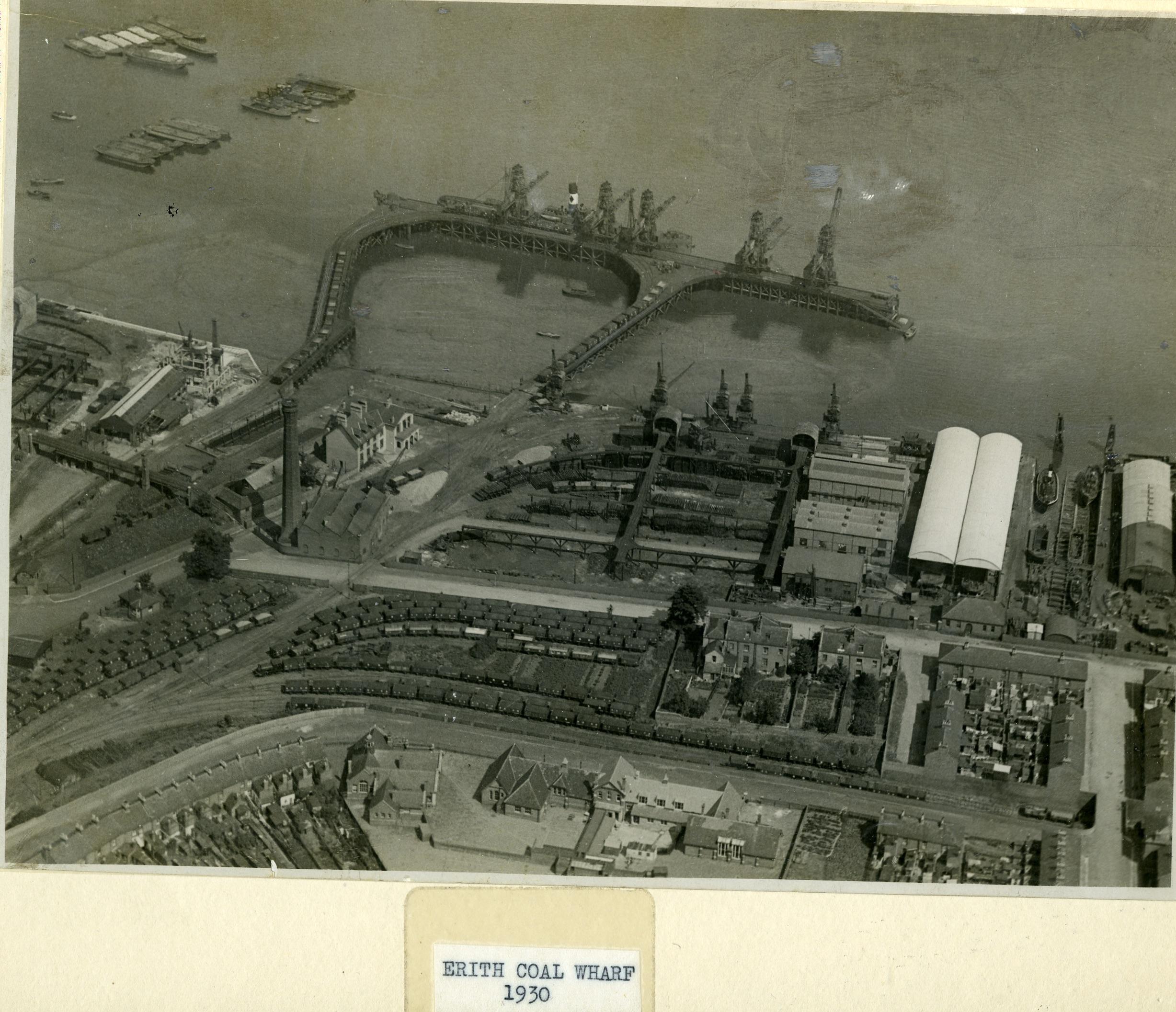 Erith Coal Wharf (c. 1930)