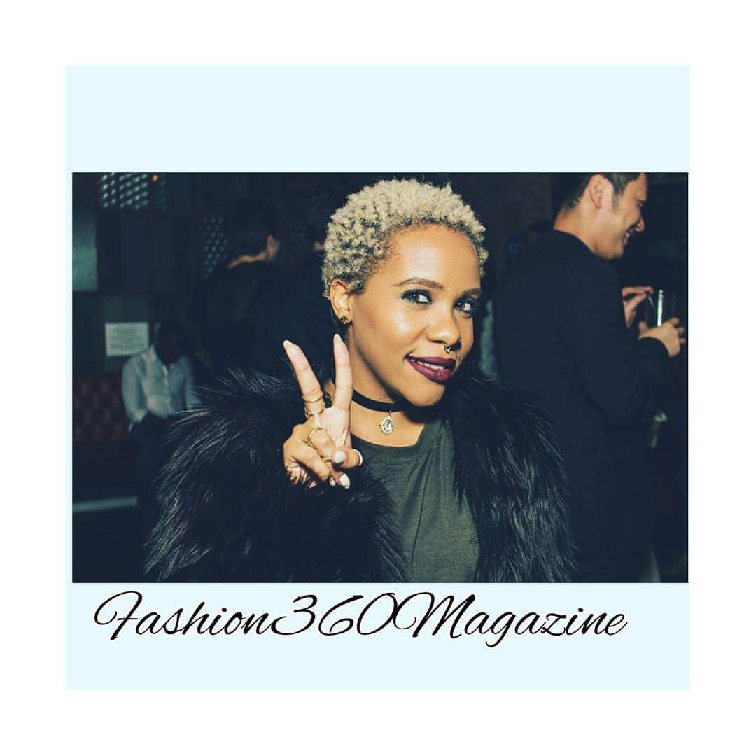Fashion 360 Magazine Annual Party My second Big Chop.