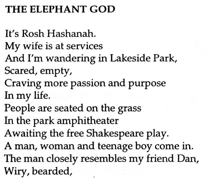 Nerve Cowboy , Number 19, Spring 2005, page 41   The Elephant God