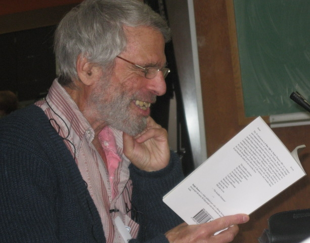Ralph Dranow reading from  A NEW LIFE  at the Berkeley Elders Guild