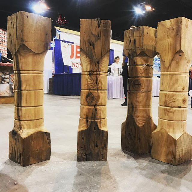 It is astounding at the differences in conversation that these turned timbers spark. Unless you're a woodworker or in the industry yourself, you might think they are a joke. To people in the industry, they are unbelievable and amazed we took a try at creating these. #woodwork #turnedlegs #lathe #customfurniture #learningexperience #construction #design #furnituredesign