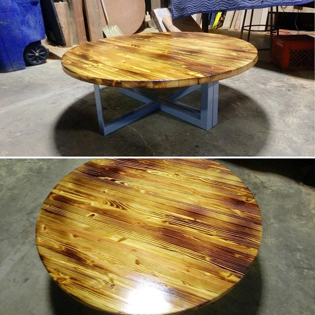 Can't stop the glare of this high gloss finished coffee table #coffeetable #custombuilt #oldwood #salvage #reclaimedwood #character #tellsastory #local #wedontcoast #highgloss #table #furniture #homeandgardenexpo