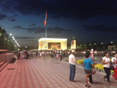 Bishkek at night