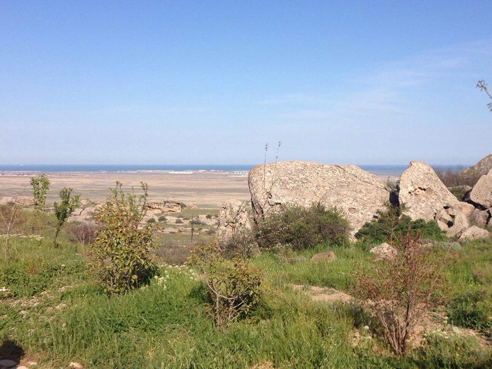 Caspian Sea up aheah