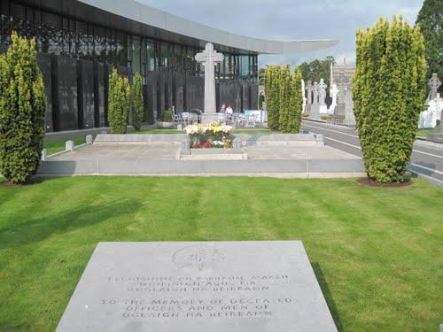 Michael Collins' grave
