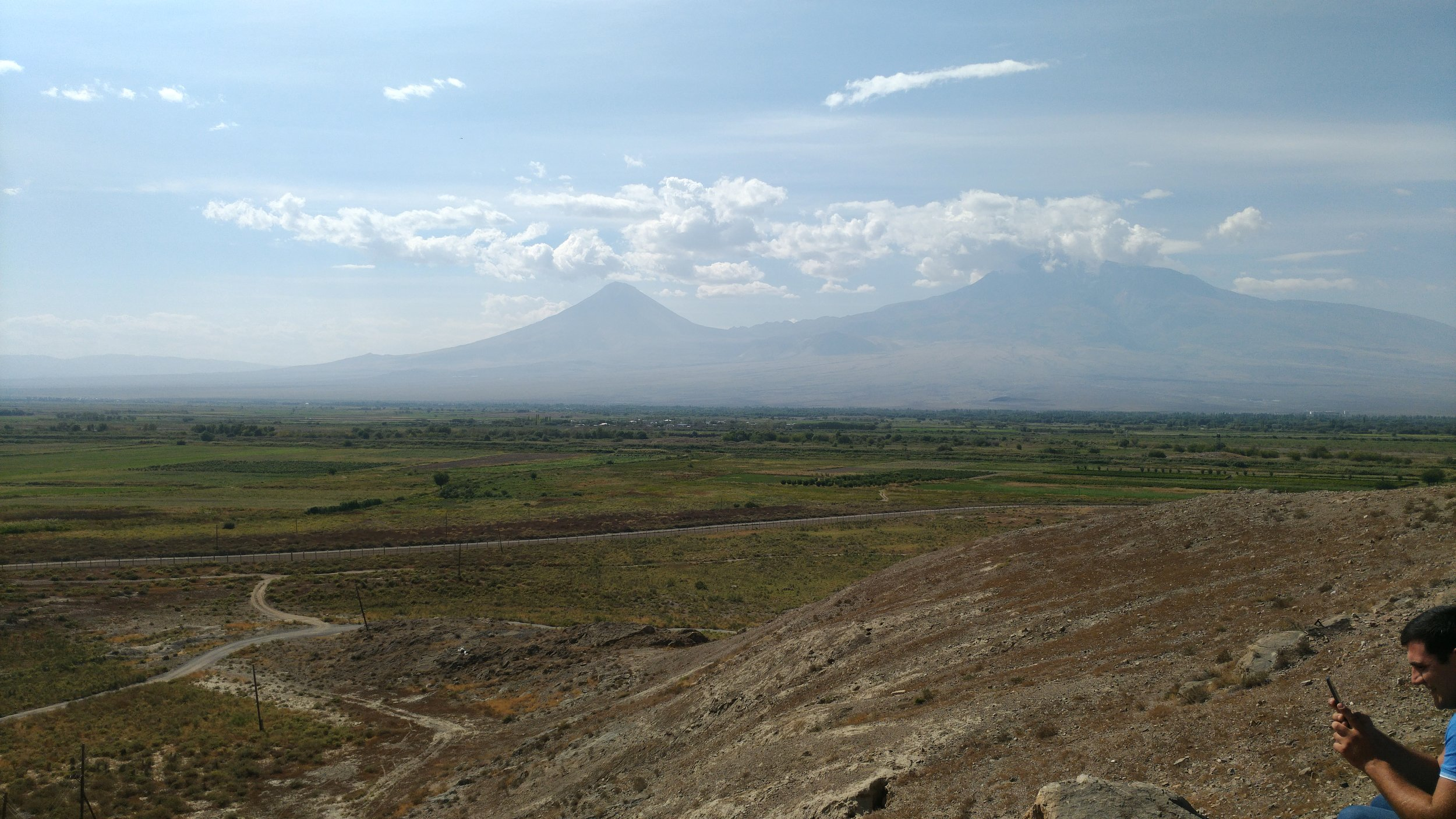 Ararat on the horizon