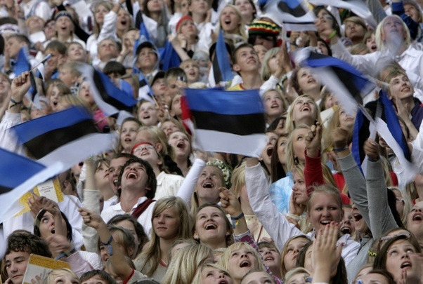 One of the first images from an 'Estonian people' google search. Notice anything?