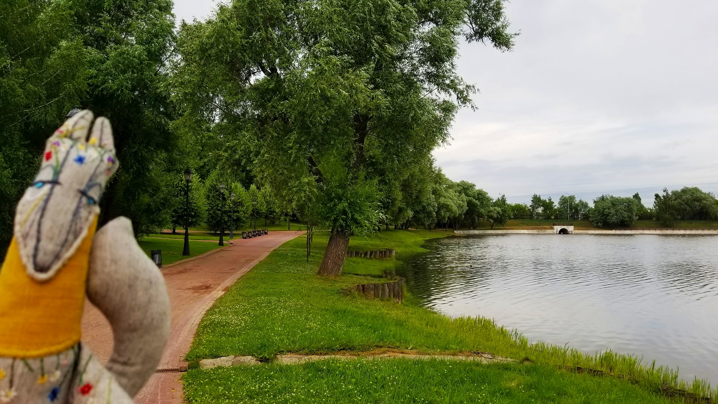 Tsaritsyno Park, Moscow, Russia