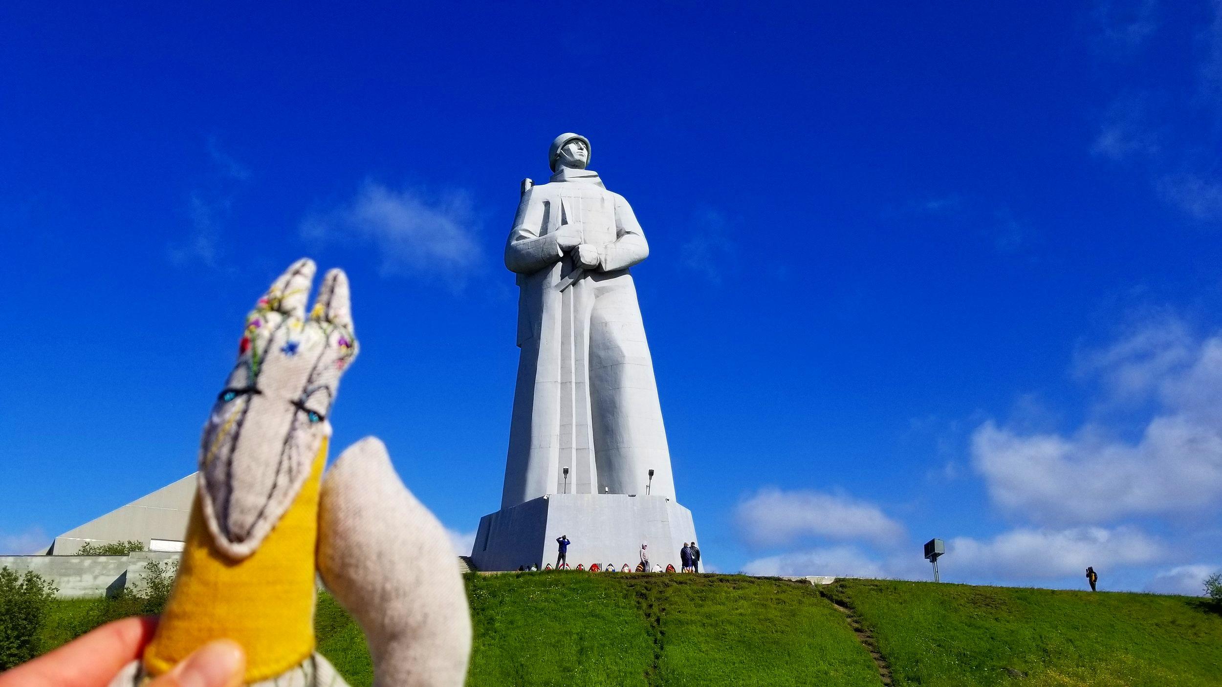 Alyosha Acrtic Statue, Murmansk, Russia