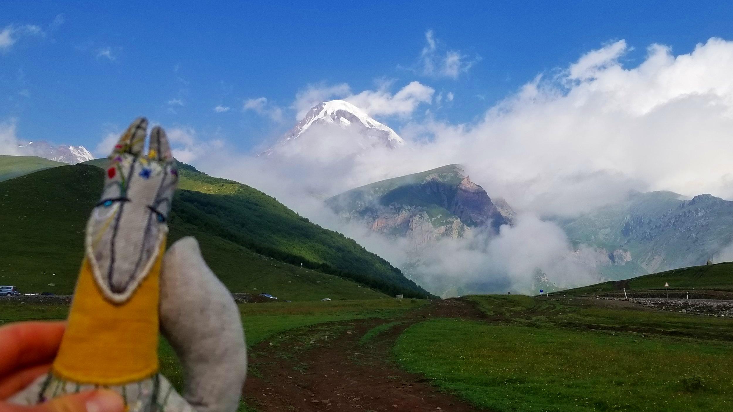 Mt. Kazbek, Georgia