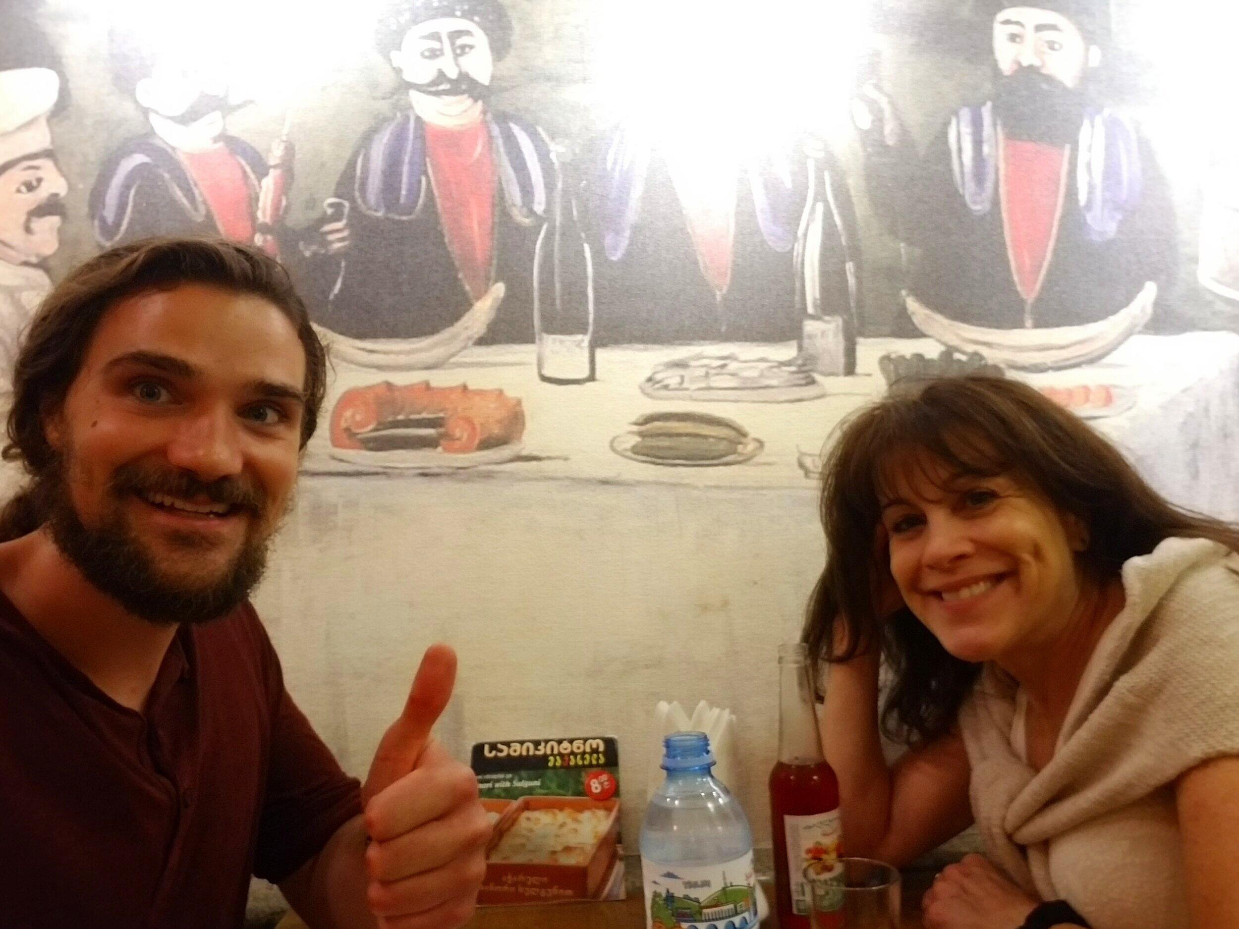 First Tbilisi dinner