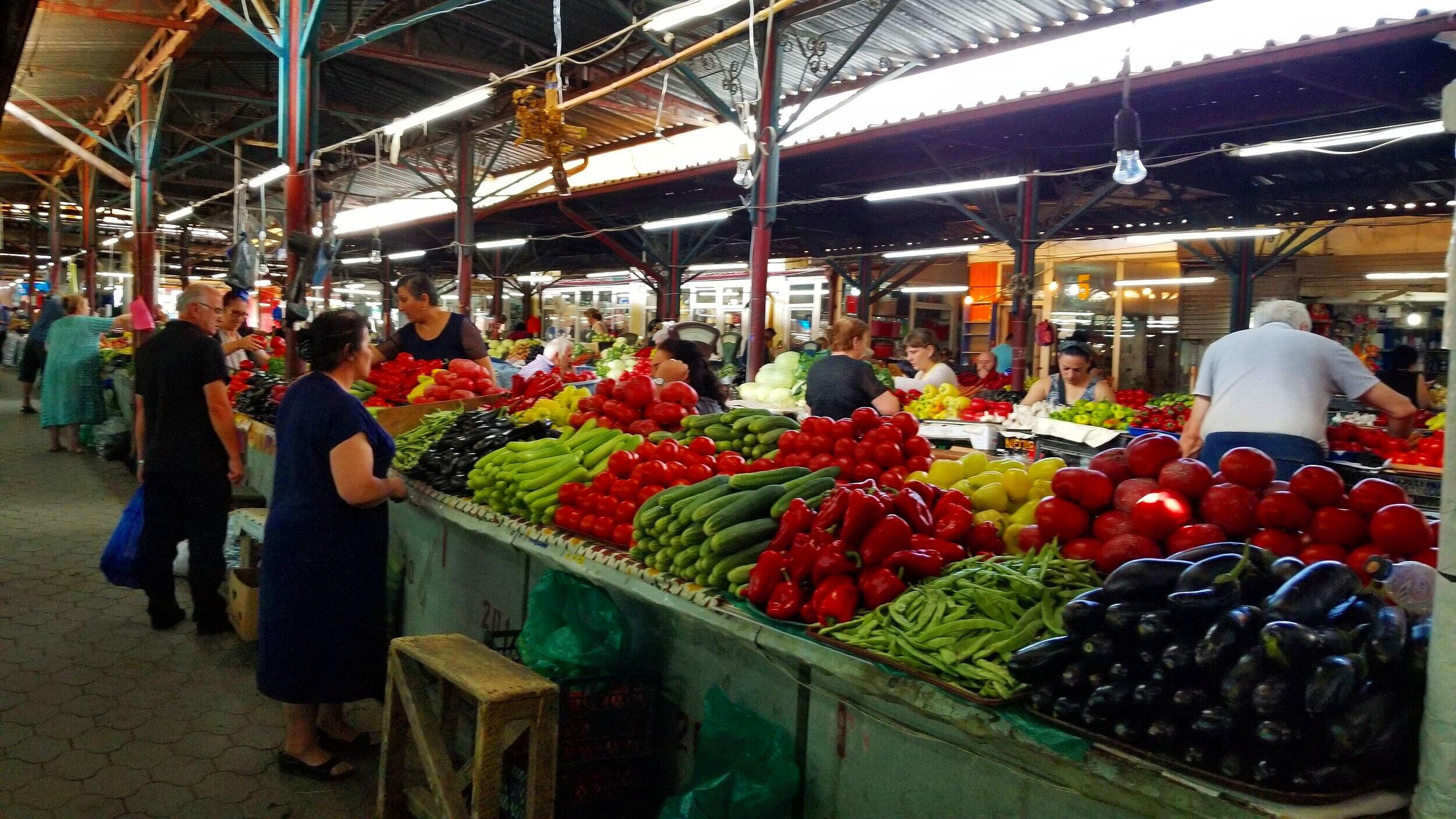 Kutaisi food market