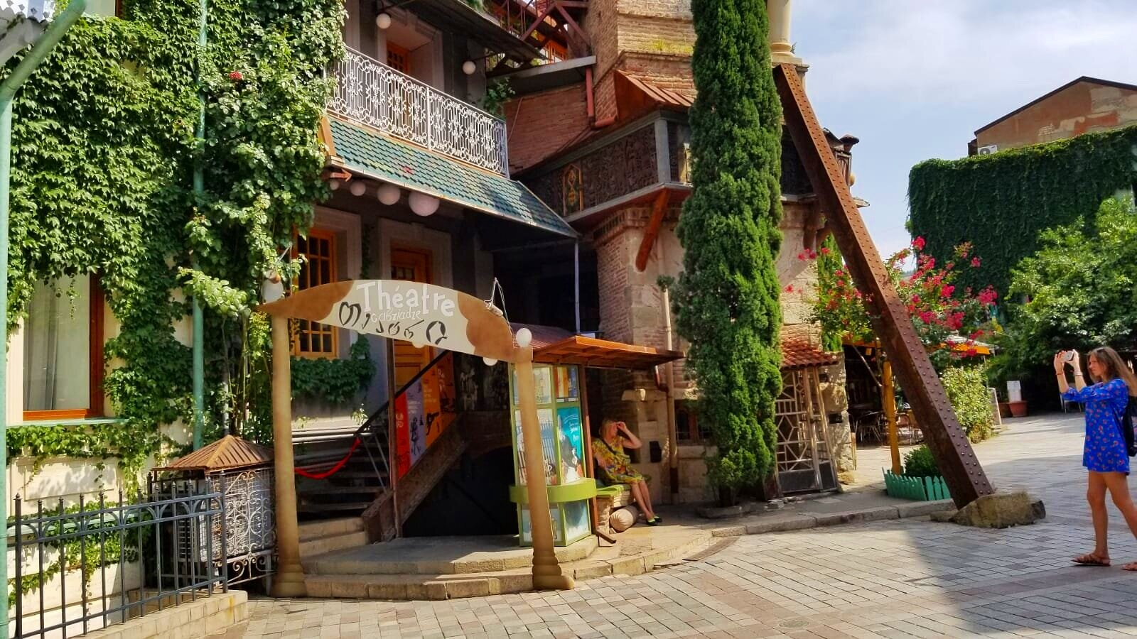 Tbilisi's old town/puppet theater